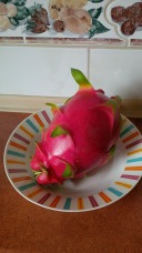 Funky fruit at a friend's place...