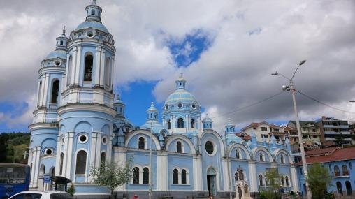Blue Church on the Hill