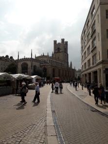 Cambridge market.