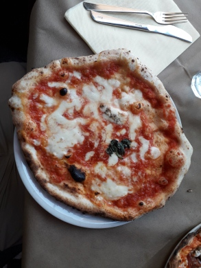 Pizza in Naples.
