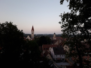 Kaufbeuren...Win and I found a cool music festival.